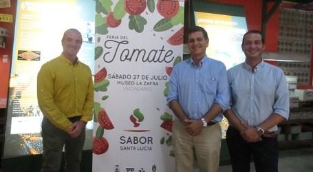 """Santa Lucía celebra la Feria del Tomate """"para impulsar su cultivo y comercialización"""""""