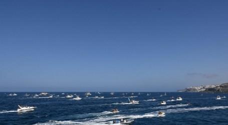Devoción marinera en la procesión marítima de la Virgen del Carmen de Arguineguín