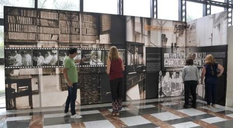 Hospital Dr. Negrín, exposición Juan Negrín