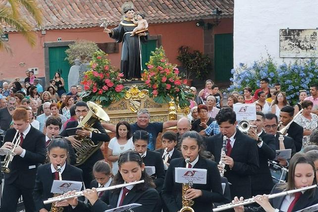 Fiestas de San Antonio El Grande 2019, procesión
