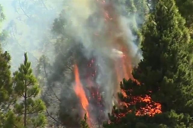 Incendio de Gran Canaria 2019