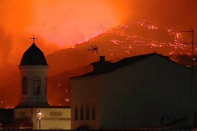 Incendio en Gran Canaria, agosto 2019