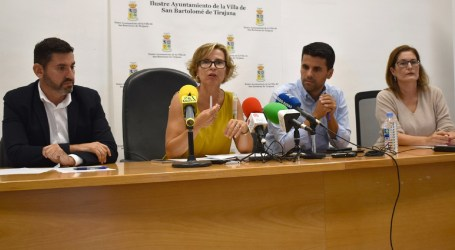 """El nuevo grupo de Gobierno prepara 25 medidas de urgencia ante la situación """"bastante delicada"""" de San Bartolomé de Tirajana"""