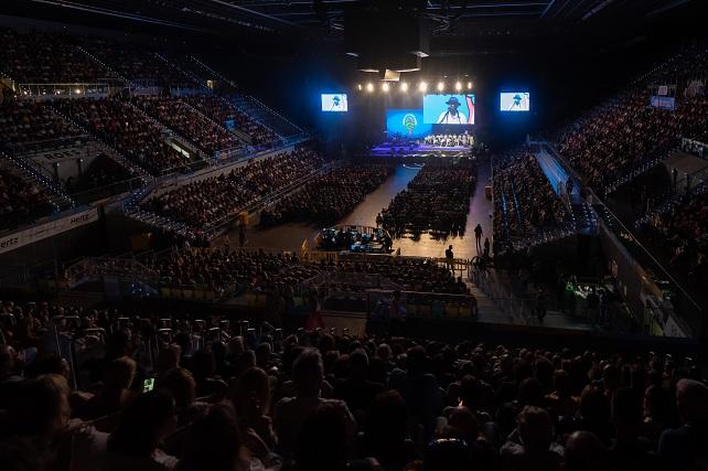 Cumbre de mi Gran Canaria, Gran Canaria Arena