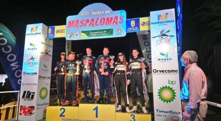 El 46º Rallye de Maspalomas finalizó con un podio completo de R5 liderado por Yeray Lemes-Dani Rosario