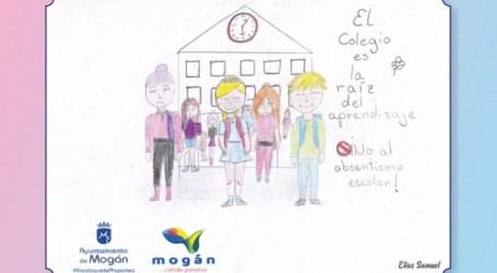 Los escolares protagonizan la nueva campaña de prevención del absentismo escolar de Mogán