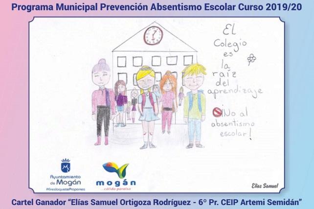 Campaña contra el absentismo escolar en Mogán