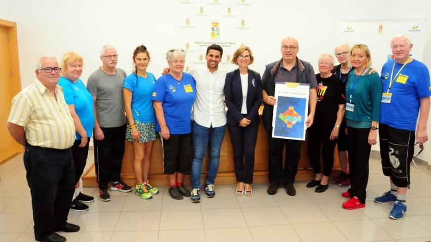 Festival Blume Gran Canaria, presentación y visita de deportistas