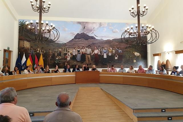 Pleno de Santa Lucía, 31-10-19