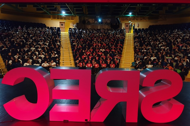 San Rafael en Corto 2019, sesión escolar