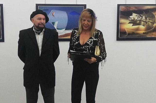 Rosario Valcárcel y Osvaldo Cipriani