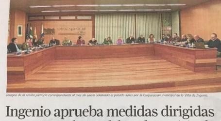 """CCOO denuncia el """"panorama laboral"""" del Ayuntamiento de Santa Lucía"""
