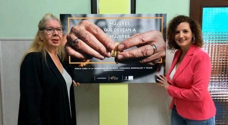 La exposición 'Mujeres que desean a mujeres' expone las historias de vida de seis lesbianas, bisexuales y trans