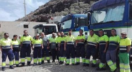 Inspección de Trabajo da un ultimátum al Ayuntamiento de Mogán por deficiencias en la recogida de basura