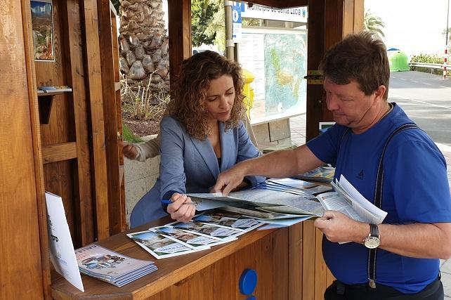 Oficina de Información Turística en Santa Lucía casco