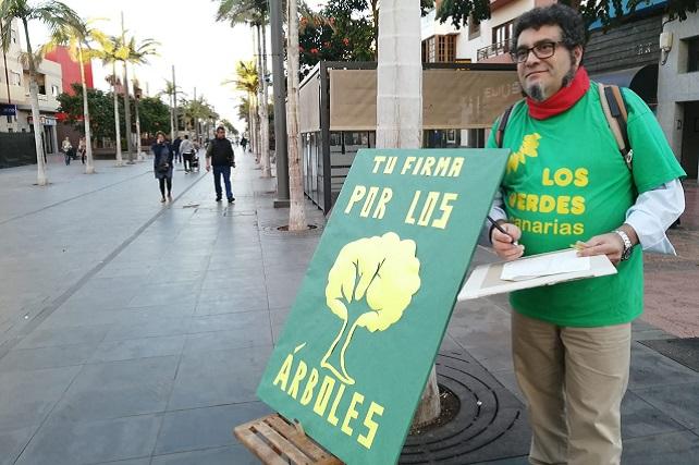 Ramón González, Los Verdes de Gran Canaria
