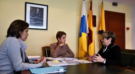 """La patronal de la construcción encuentra en Mogán """"un aliado"""" para impulsar un Plan de Vivienda en Canarias"""