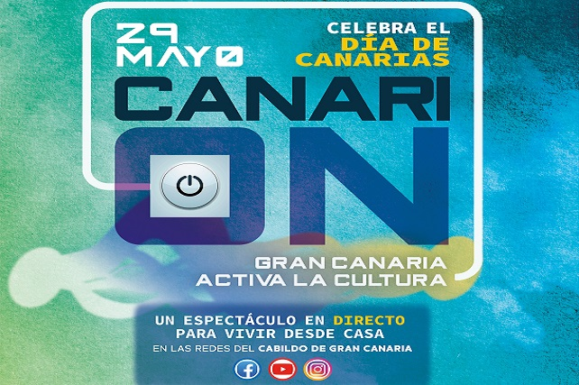El Cabildo celebra el Día de Canarias con el 'Festival Canari-on', un evento online con medio centenar de artistas El joven Ismailah Thiam Ramos cantará en este acto como le anunció Antonio Morales en la final del programa 'Got Talent'