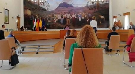Se reanuda la actividad plenaria en Santa Lucia tras la petición de la oposición