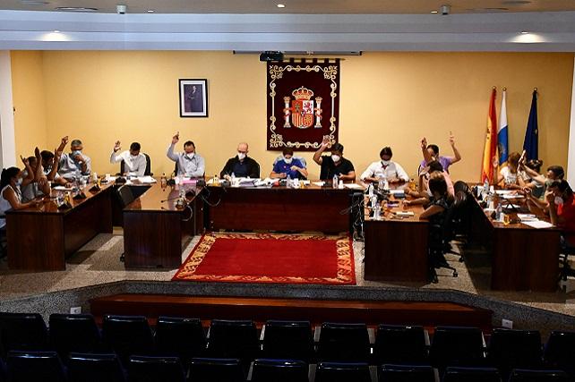 Mogán da luz verde al proyecto que convertirá Catanga en epicentro del ecoturismo y agroturismo en Gran Canaria La propuesta contó con el voto positivo del grupo de Gobierno local (Ciuca), y del PSOE y Partido Popular en la oposición