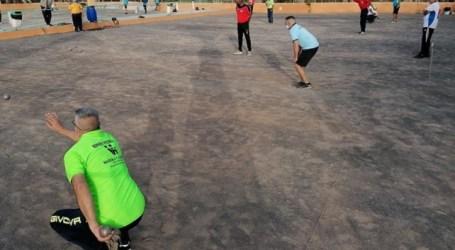 Mogán, sede única de los campeonatos de petanca en Gran Canaria