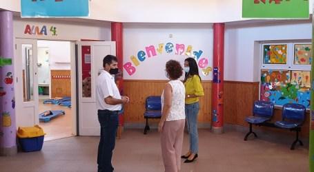 Las escuelas infantiles vuelven a abrir después de ser desinfectadas y preparadas con medidas anti Covid 19