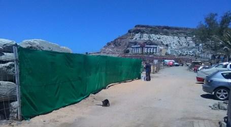 Nueva Canarias Mogán pregunta por el cierre de los accesos a la playa de Tauro