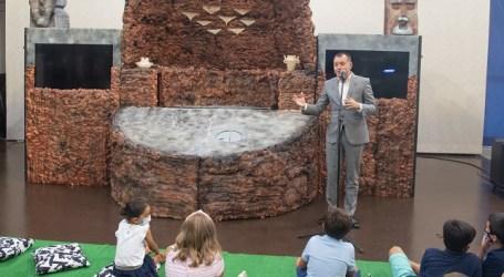 El Cabildo estrena el espectáculo infantil de Risco Caído con personajes de la cumbre de Gran Canaria