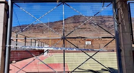 El Ayuntamiento de Mogán procede al cierre de todas las canchas deportivas del municipio