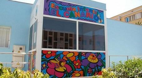 Las escuelas infantiles de Santa Lucía comienzan el curso este jueves con ratios máximos de 13 y 15 niños por aula