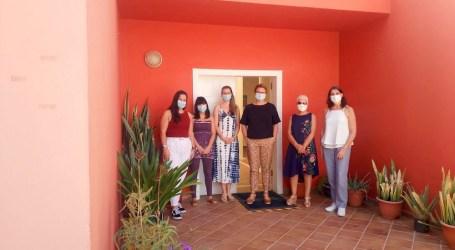 Martel visita el Centro de Rehabilitación Psicosocial de Maspalomas en el Dia Mundial de la Salud Mental