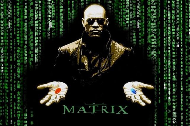 Matrix, pastillas rojas y azules