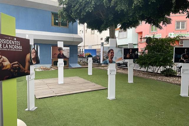 El Punto J. de Santa Lucía muestra la exposición 'Disidentes de la norma'  La exposición, que  podrá verse hasta el próximo 9 de abril, visibiliza la diversidad de identidades de género