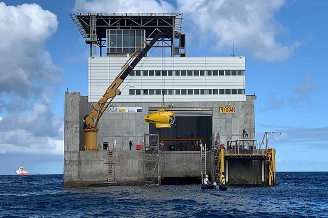 PLOCAN y submarino tripulado ICTINEU 3