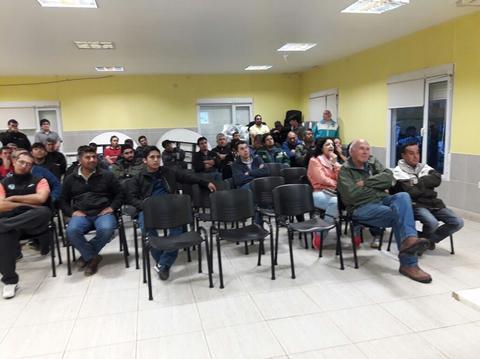 La Institución llevó adelante un encuentro en la Sede del Gremio Petrolero.