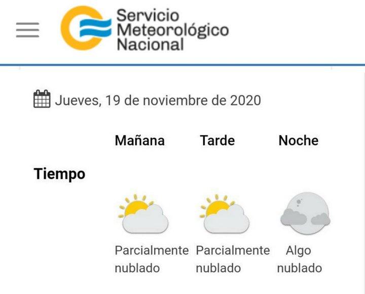 clima 2020-11-19
