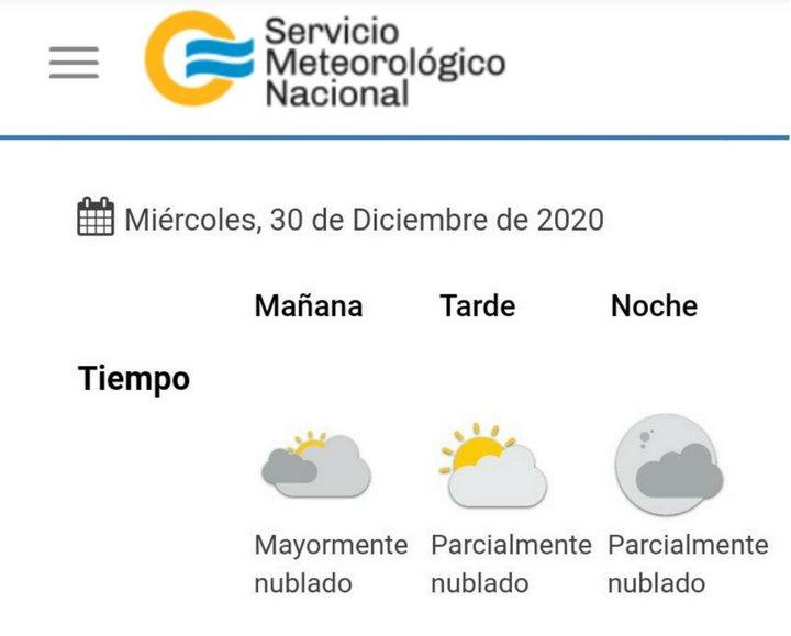 Clima 2020-12-30