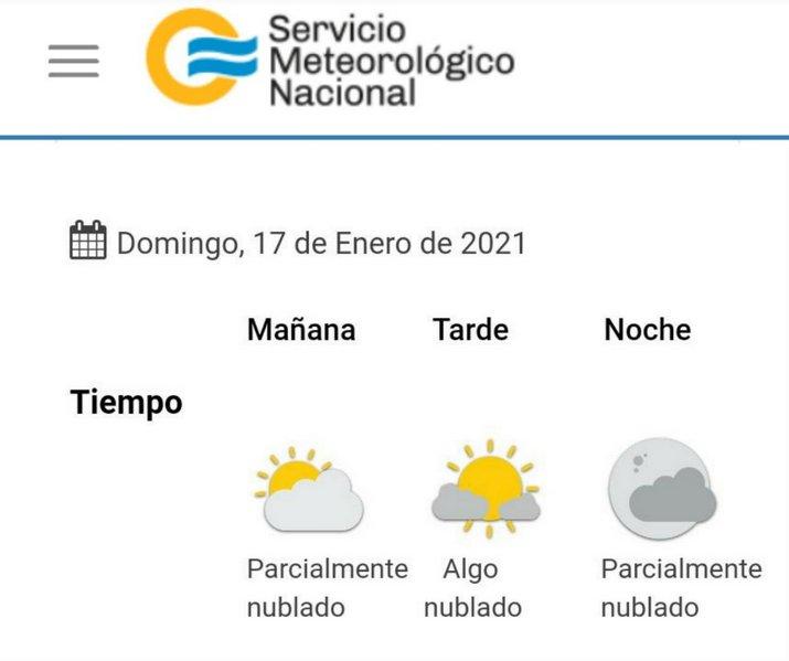 clima 2021-01-17