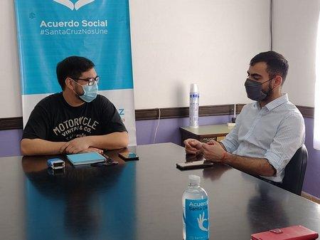 REUNIN DESARROLLO Y ANSES CALETA 4