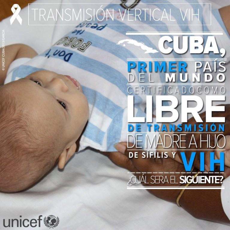 Cuba VIH UNICEF