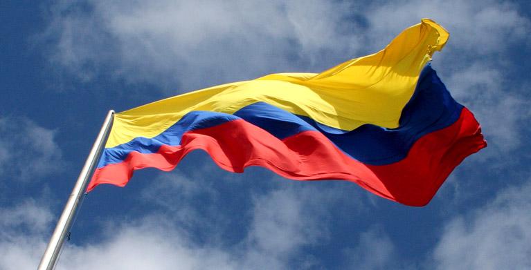 Bandera colombia 2015