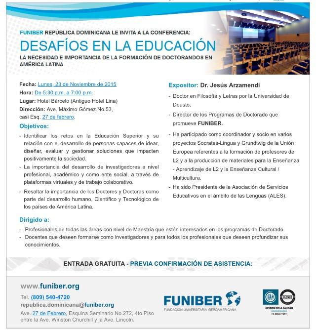 Desafios educacion FUNIBER