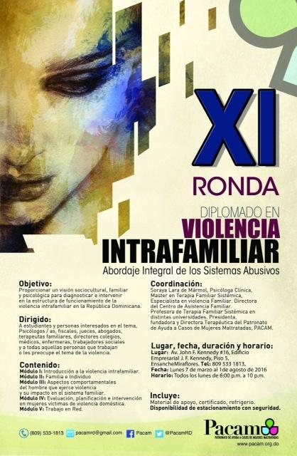 XI violencia intra