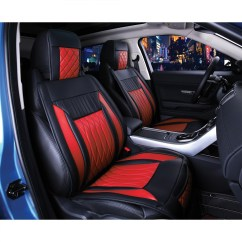 Chair Covers For Cars Retro Dining Table Chairs Uk Black And Red Seat Velcromag