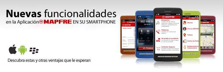 Aplicación Mapfre iPhone Android
