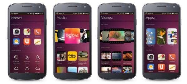 Características Ubuntu para móviles