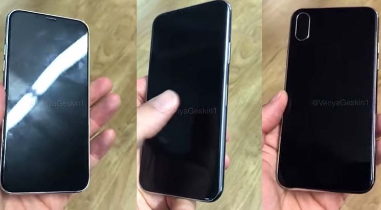 iPhone 8 Cámaras infrarrojos detección facial