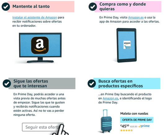 Amazon prime day ofertas 16 julio