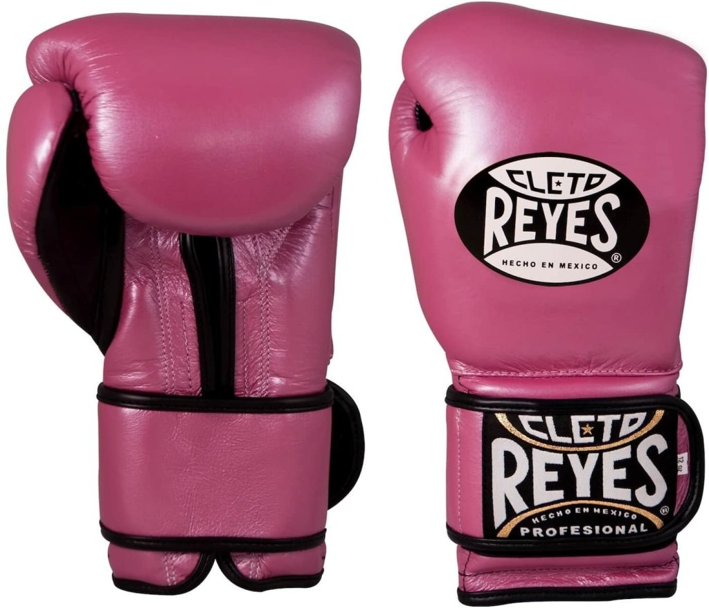 cleto reyes guantes ce514P rosa