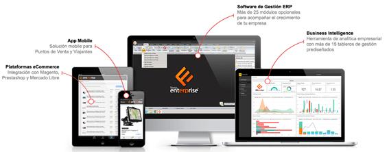 Software de gestion Flexxus ERP